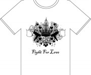 Tshirt Fight For love