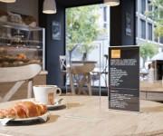 display da tavolo  porta menu e menu
