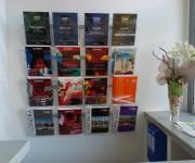 Vision_Display Porta Depliant e Cataloghi a parete