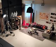 Set Zona Living nello Studio Color
