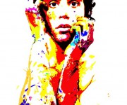 mika - acrylic on canvas - cm30x40 - 2009