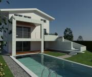 La piscina in progetto