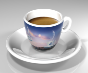 Meseta coffee cup renders