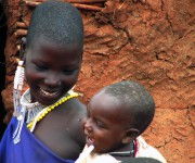 Masai mother