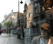 Vetrina in Oxford Street