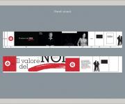 Progettazione grafica ingresso stand