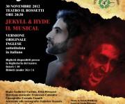 Locandina Musical Jekyll & Hyde 2012 Trieste