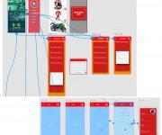 Prototype e Wireframe - App