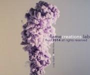 Progetto: Fluidi di Flame Creations LAB Viola e Bianco