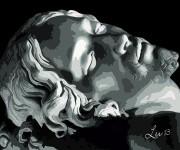 Michelangelo Pietà_particolare