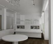 Food interior design - render