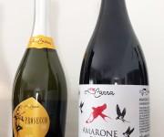 Etichetta Amarone e Prosecco Coviello Carra