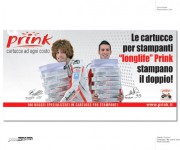 collaborazione creativa per campagna Prink