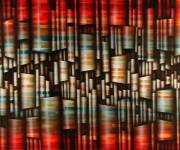 Sedimenti sinfonici, 2004, acrilico su tela