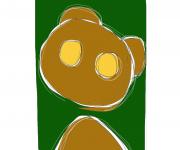 cercopiteco verde - ideAZIONIvettoriali