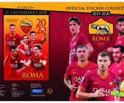 Esecutivo copertina sticker album as roma 2019-20