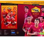 Esecutivo copertina sticker album as roma 2019-20