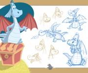 Drago character design