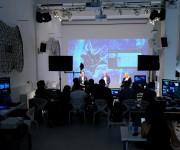 Regia per evento aziendale in streaming nello spazio Light