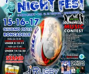 Volantino Rugby Night Fest