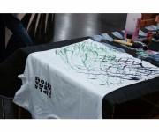 pittura su t shirt