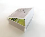 Studio scatola porta palline da tennis per 0-15