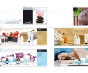 Studio e realizzazione catalogo Uniest per prodotti