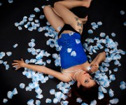 costume bagno donna blu,