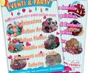 Volantino promozionale Eventi & Party