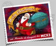 auguri new posteMCX3 -illustrazione auto promozionale