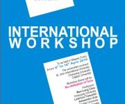 flyer workshop internazionale