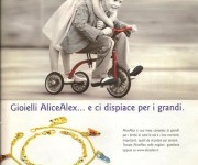Campagna stampa gioielli per bambini - Agenzia Creativando
