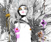 Commissioned artwork: revolution seventy. fashion illustration