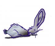 coniglio di plastica