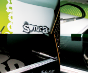 CORPORATE- immagine coordinata per il locale SONICA(progetto di tesi)