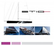 STIG . Brand identity for a sailing boat