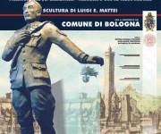 Manifesto inaugurazione scultura Salvo D'Acquisto