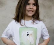 T-shirt CanPigro stampa trasferimento termico