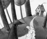 illustrazione l'eco del bosco5