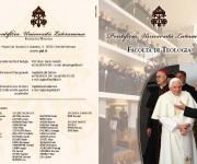 PONTIFICIA UNIVERSITA' LATERANENSE, Facoltà di Teologia-Brochure 4 ante (2010)