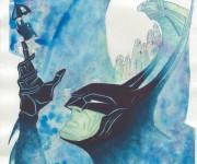 Batman in sbatment