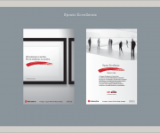 Advertising stampata per