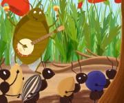 cicada&ants