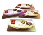 FREY CHOCOLATE- packaging design (creazione di un system comune a tutte le linee)