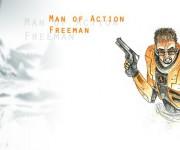 Sfondo Gordon Freeman uomo d'azione