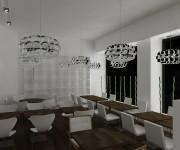 Food interior design - render 2