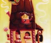 un gustoso tetto di cioccolato