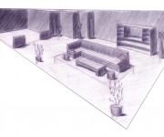 sketch - salotto 1