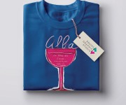 T-shirt comune di ALBA (CN)