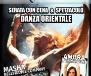 DANZA ORIENTALE BRESCIA Manifesto A3